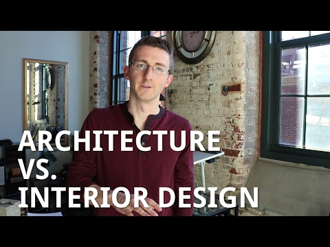 Architecture vs. Interior Design
