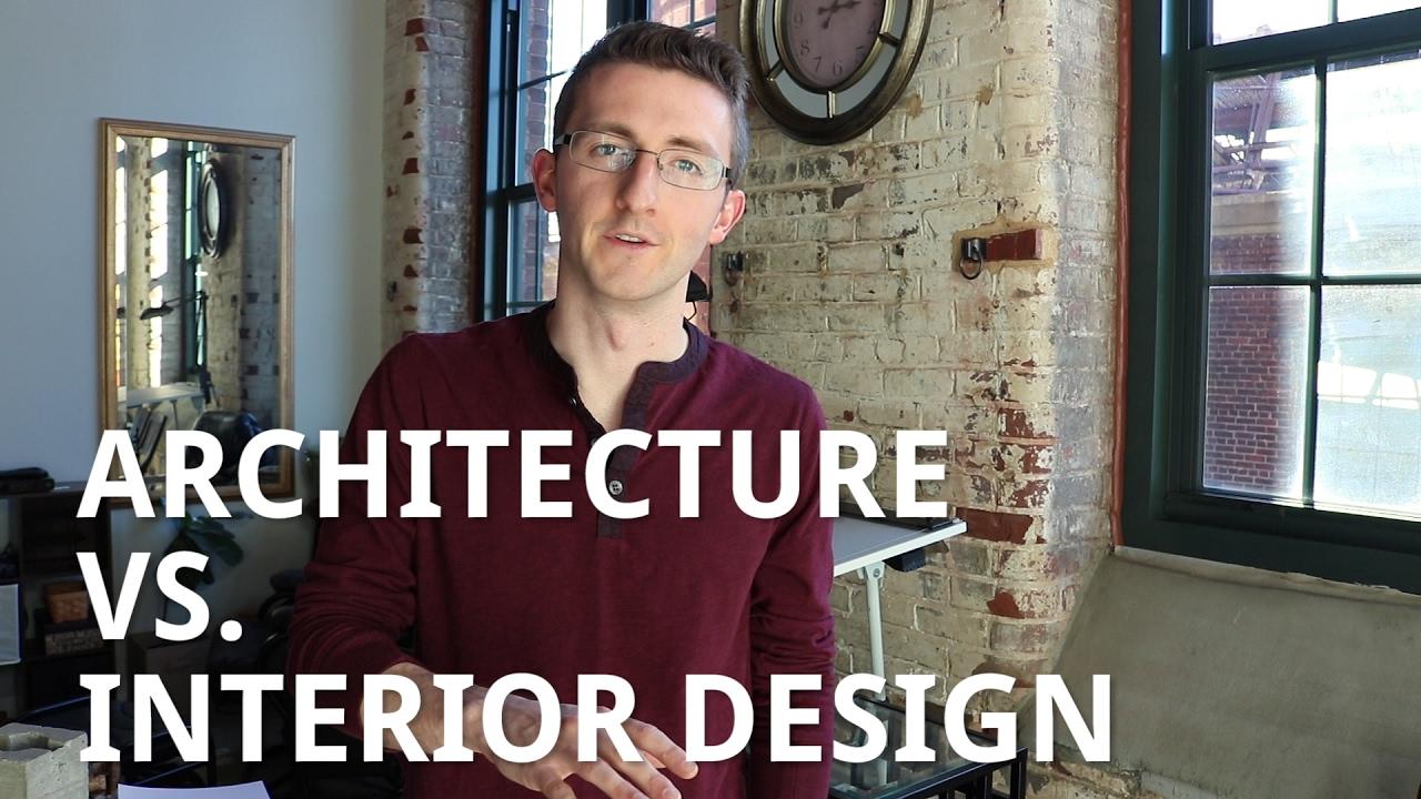 Architecture vs. Interior Design - YouTube