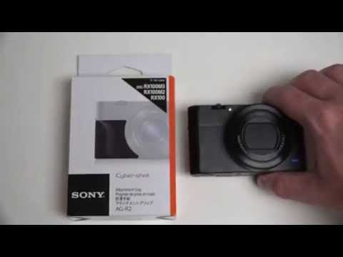 Sony Cyber-shot AG-R2 Grip for RX100M3 Unboxing and First Look