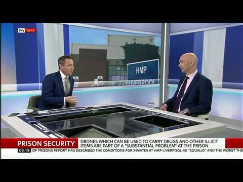 Prison Drones, Drugs And Cockroaches: Shaun Attwood On Sky News