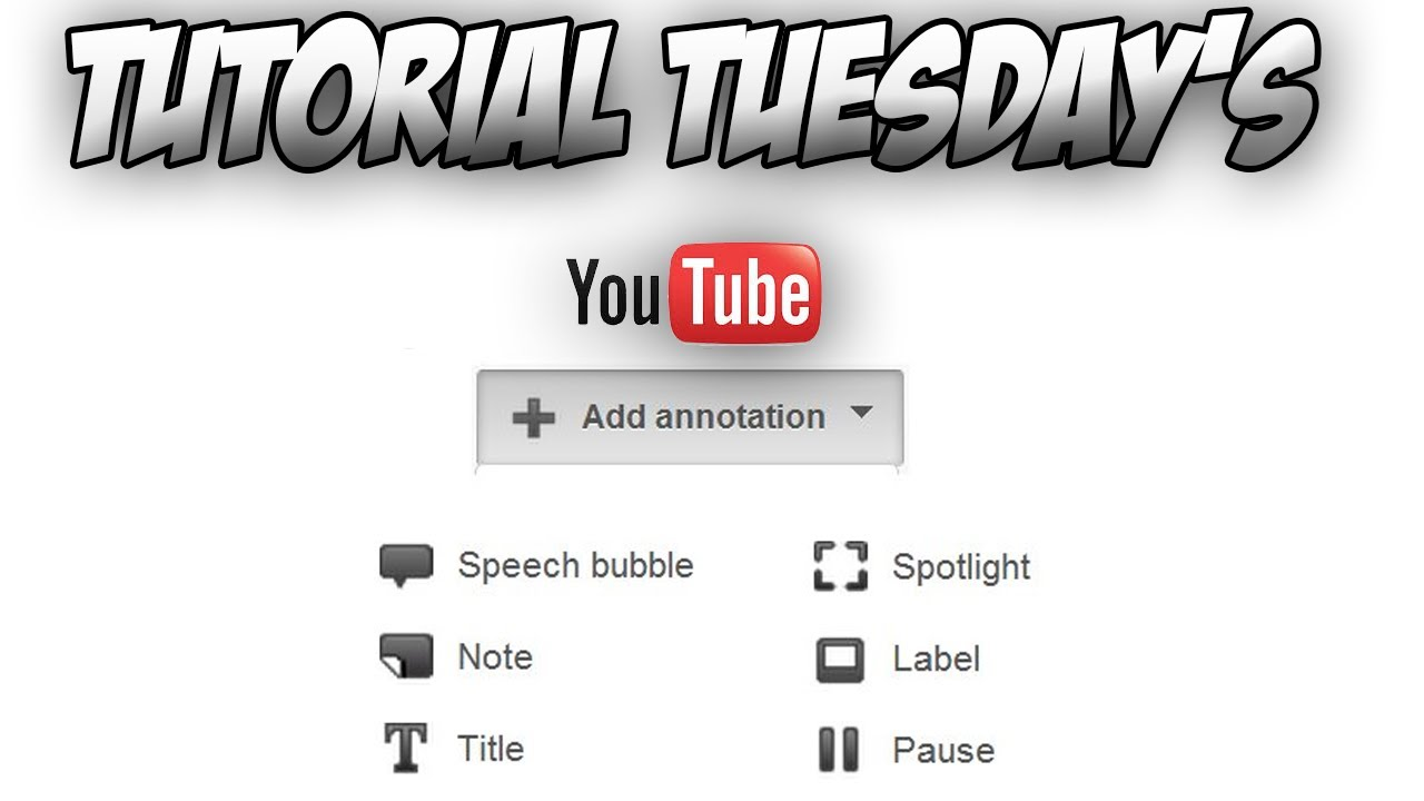 Tutorial Tuesdays: How To Add A Outro Annotation (youtube) #4 (without  Shadow Or Black Overlay!!!)