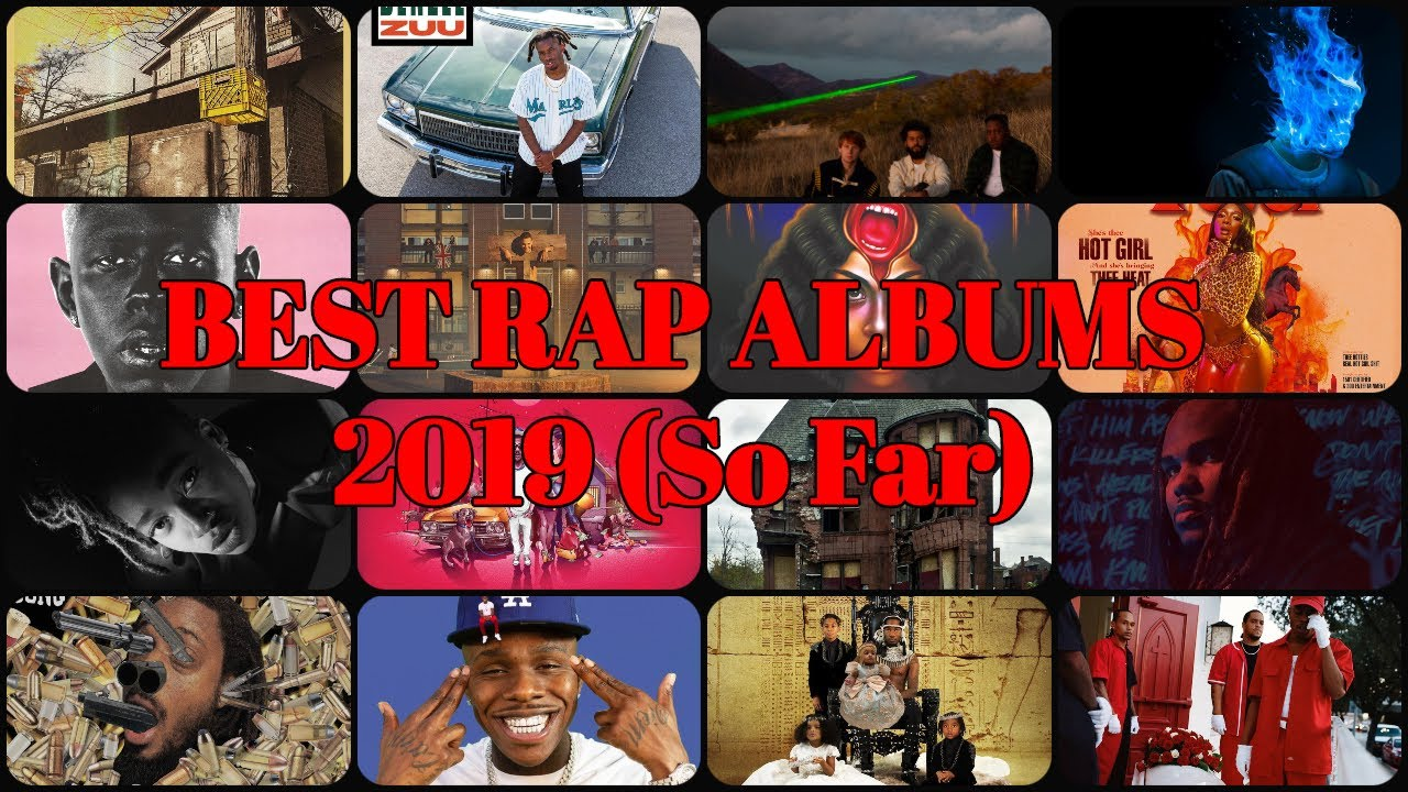 TOP 10 BEST RAP ALBUMS of 2019 (So Far)   MrFeature
