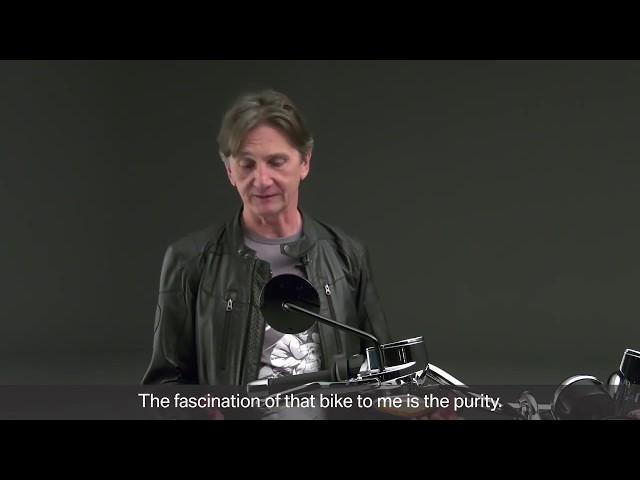 Lanzamiento BMW R 18. Declaraciones Edgar Heinrich, Jefe de Diseño de BMW Motorrad