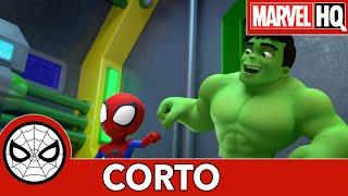 Spidey y sus sorprendentes amigos: Con la ayuda de Hulk