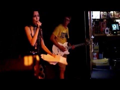 Jennifer Robin JOYCE DEWITT from Death Confetti LIVE with JACOB Anderson at Slim's Summer 2015