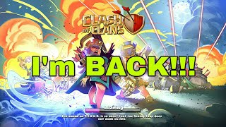 Hello Everyone!!! / I'm BACK!!! / Clash With Bhargav / Clash Of Clans / Clash Royale / Clash On