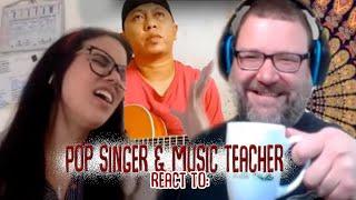 Pop Singer & Music Teacher React to Alip_Ba_Ta Californication RHCP Acoustic Guitar Cover Reaction