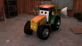 Tractor Car Garage | Street Vehicles Videos for Kids | Car Cartoon for Children