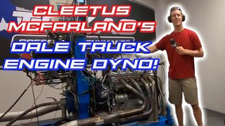 Dale Truck Engine In Action On Our Engine Dyno!