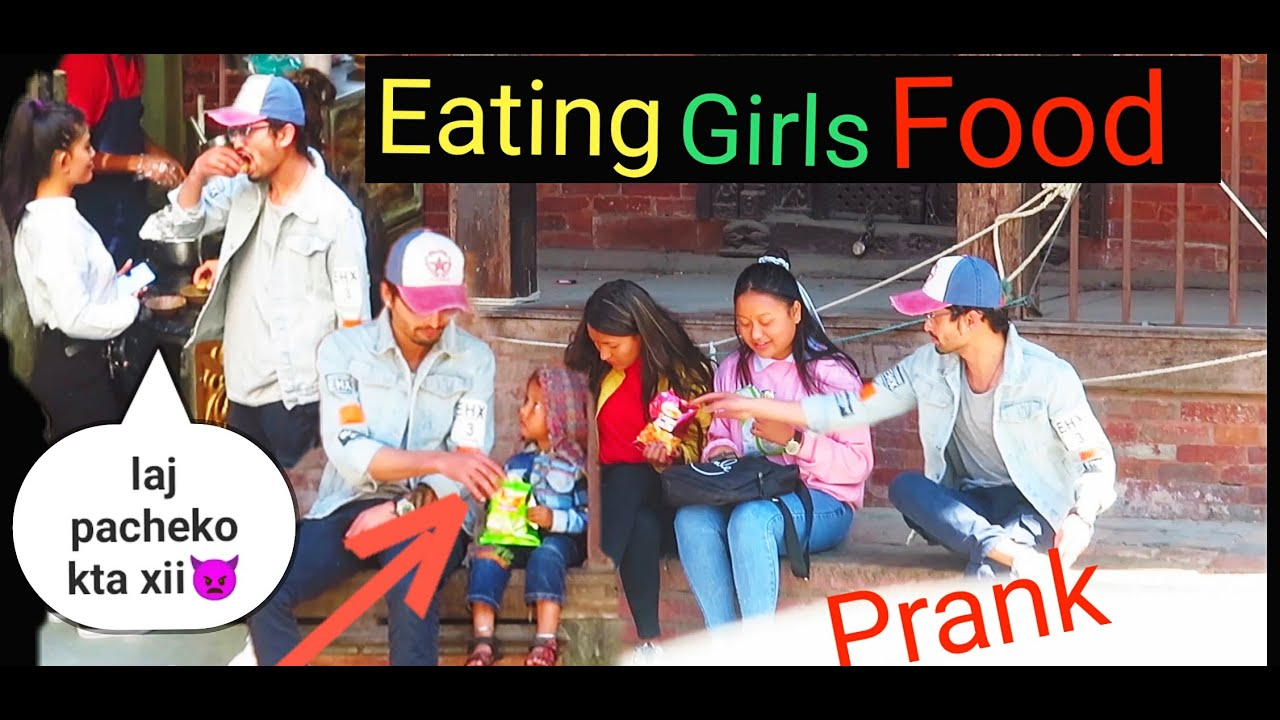 Nepali Prank- Eating girls food #gone_heavy