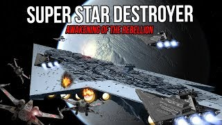 Super Star Destroyer Ambushes the Liberation - Star Wars - Awakening of the Rebellion S2Ep 19