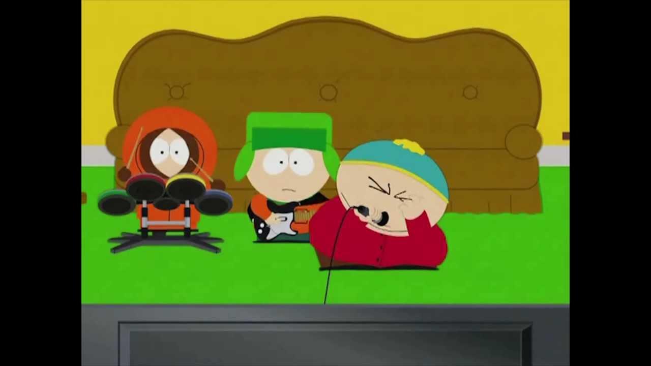 Cartman singing poker face episode slot car illustrated ho