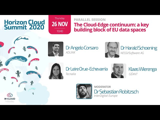 Parallel Session: The Cloud-edge continuum: A key building block of EU data spaces