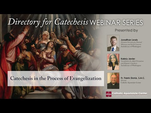 """Directory for Catechesis Webinar Series: """"Catechesis in the Process of Evangelization"""""""