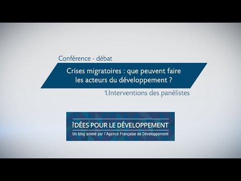 Crises migratoires : que peuvent faire les acteurs du développement ? Part 1/3