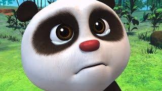 Мультики - Кротик и Панда - Секрет Кротика + Каштановый торт - Веселые мультфильмы для детей