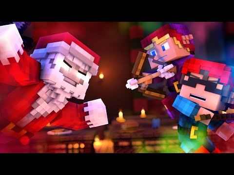 """♫""""Santa Claus is Running This Town""""♫ A Minecraft Parody (Animated Music Video)"""