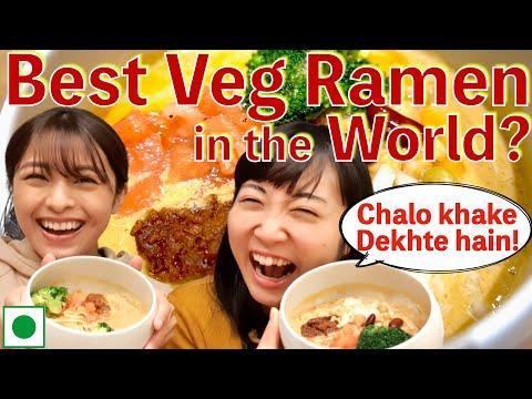 Best Veg Ramen in the world?Japani Veg(Vegan) Ramen kaisi hoti hai? Non-veg Ramen se badhiya?