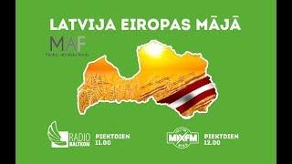 """""""Latvija Eiropas mājā"""" programmas viesis ir Eiropas Parlamenta deputāts Roberts Zīle."""