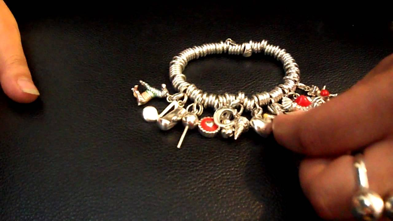 Links Of London Sweetie Bracelet With Charms Youtube