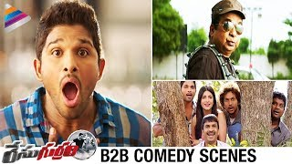 Race Gurram Movie Back to Back Comedy Scenes | ...