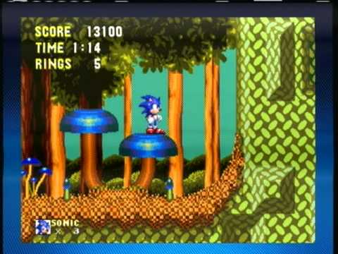 Sonic And Knuckles Mushroom Hill Zone Special Ring Locations