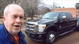 2015 Ford F350 Platinum Ultimate 4x4 Dually Test Drive