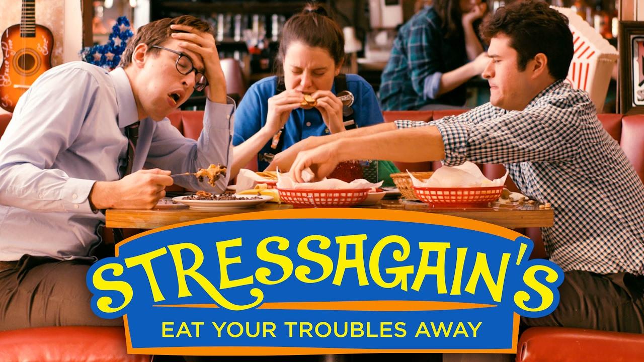 Stressagains  The Restaurant For Stress-eating