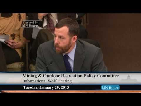 House Mining and Outdoor Recreation Policy Committee  1/20/15
