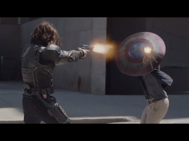 Captain America The Winter Soldier Clip Learning The Dance Hd