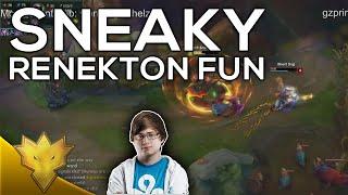 C9 Sneaky - Renekton Top Fun - Stream Shorts