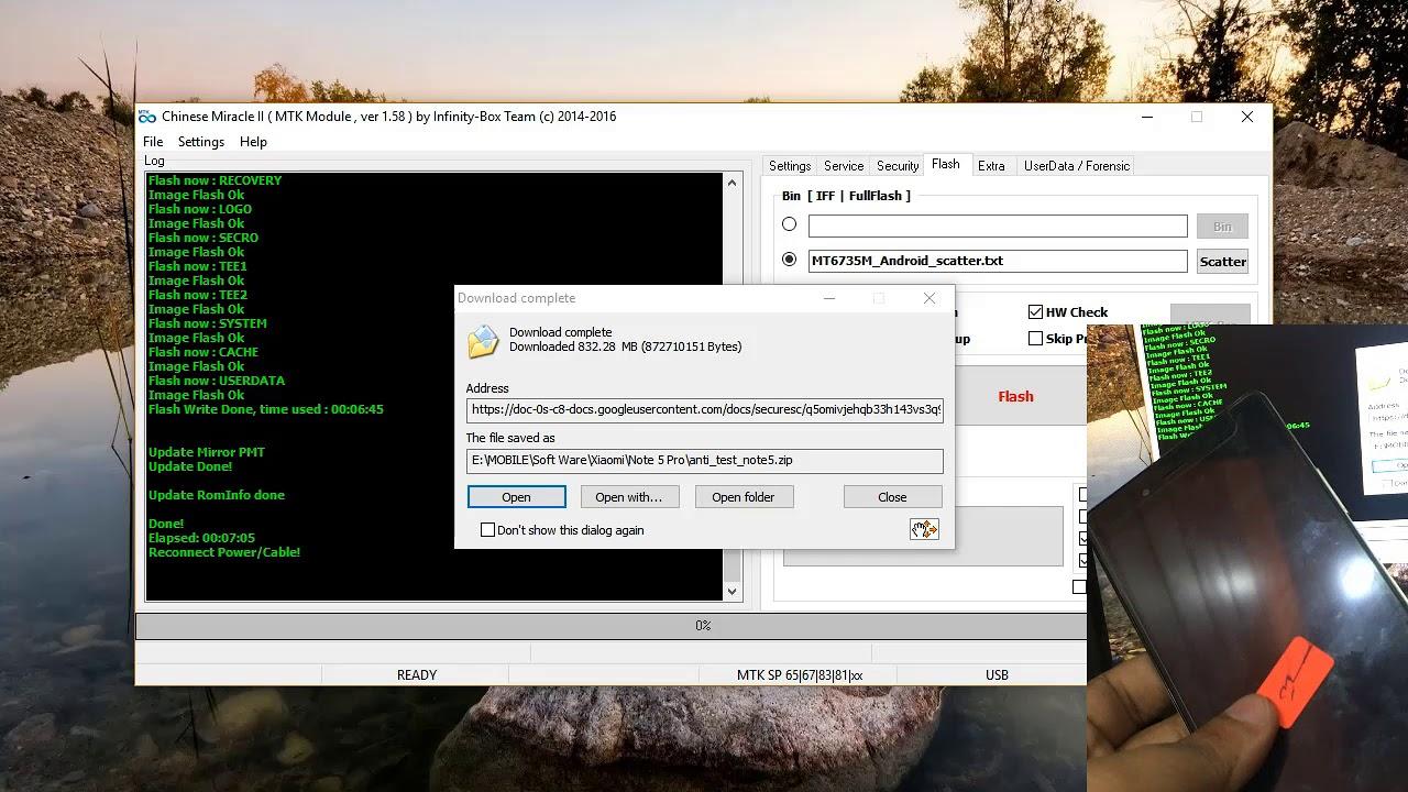 Dead Boot fix Infinix X556