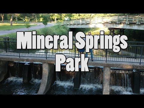 Mineral Springs Park, Owatonna Minnesota. DJI Spark Drone. Bing Err