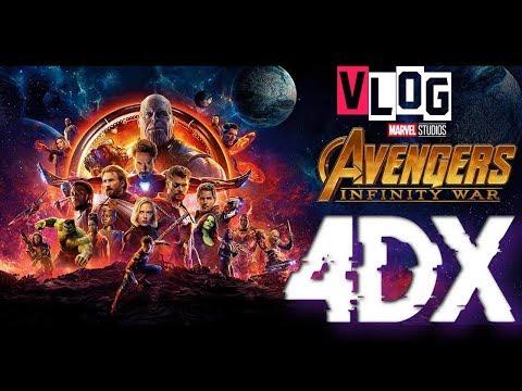 Avengers Infinity War 4DX │  DownTown Center │SonrieHD │ 4DX Caribbean Cinemas RD