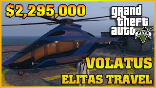 VOLATUS HELICOPTER | Finance and Felony | GTA 5 Online DLC