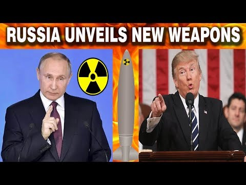 Latest News Russia unveils brand new nuclear weapons which can kill anywhere in the world  PUTIN