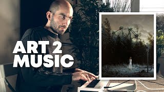 Composing orchestral film music for a painting in Ableton Live // Art2Music Ep. 2