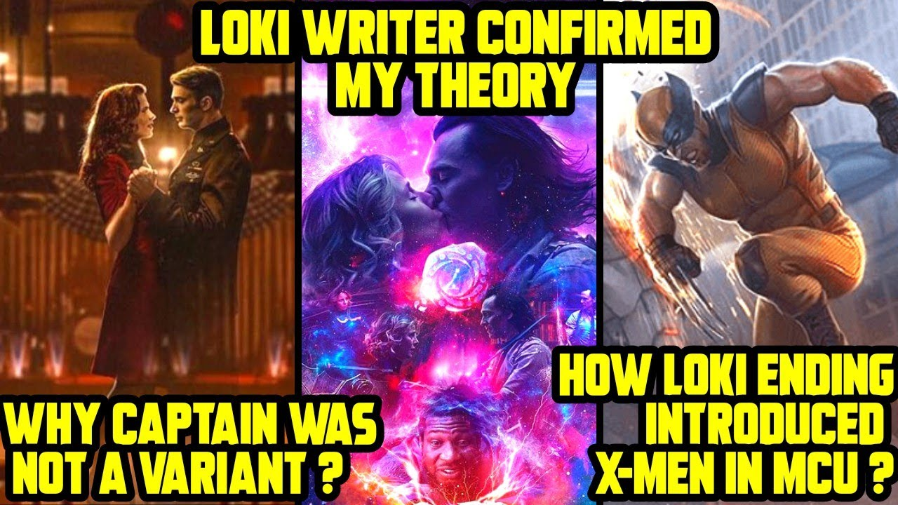 Why Captain is not a Variant ? How Loki Ending introduced X-Men ? Loki Writer Confirmed my Theory !