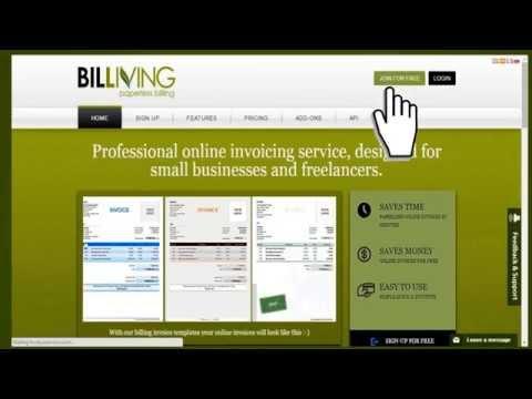 BILLIVING Online Invoicing