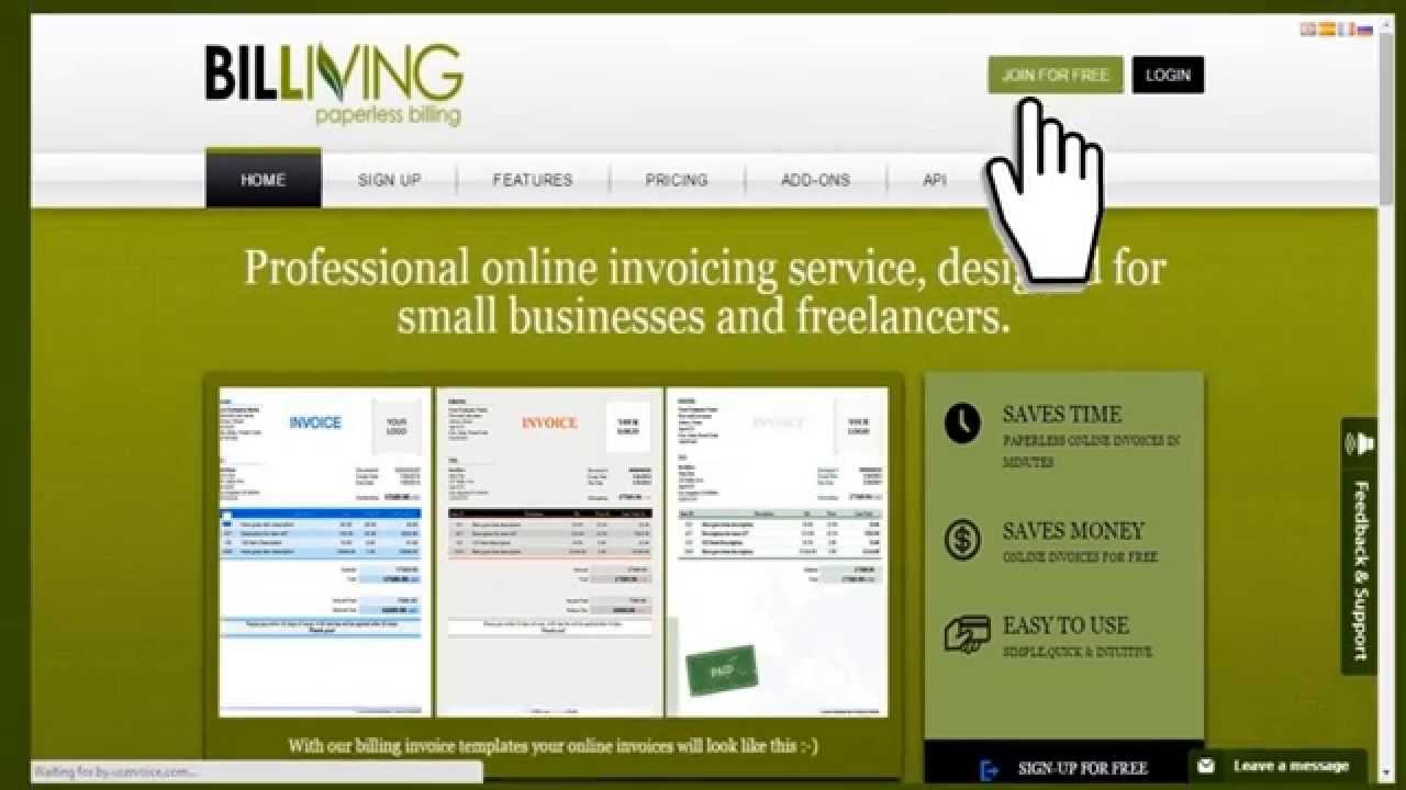 online invoicing service