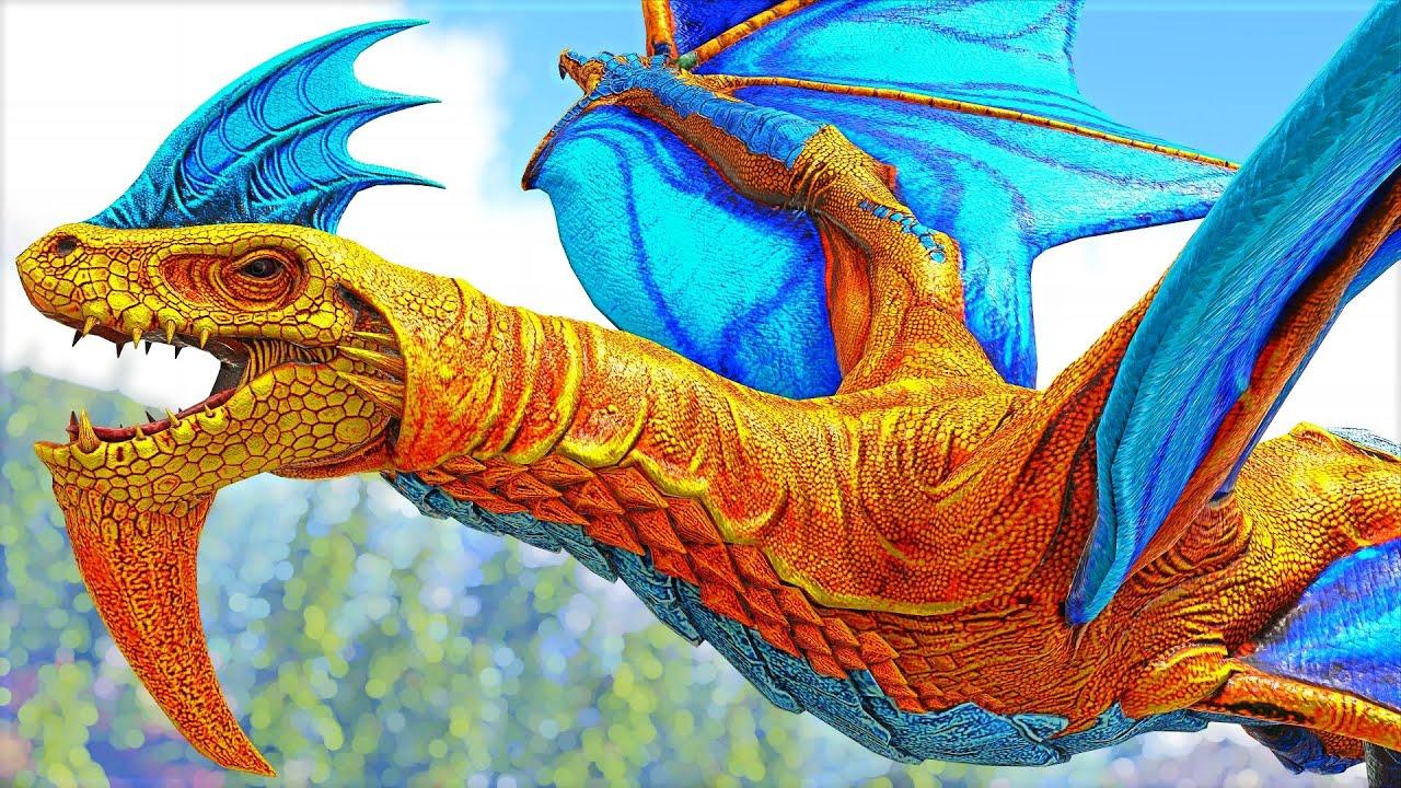 Virei O PODEROSO Pai InDragonRaptor Na MEGA FUSÃO! (Papai Indoraptor) Ark Dinossauros