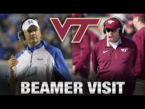 Virginia Tech's Justin Fuente: Hilarious Frank Beamer Story