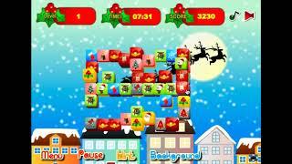 Christmas Mahjong - Gameplay Walkthrough (Web Browser)