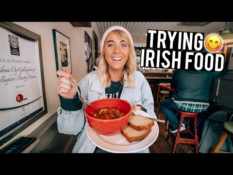 We Tried Irish Food In Dublin