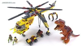 LEGO Dino 5886 T-Rex Hunter set review!