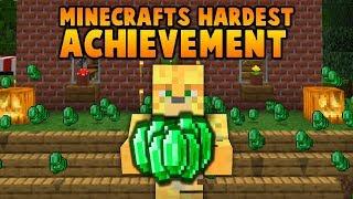 I Finally Completed Minecraft's Hardest Achievement