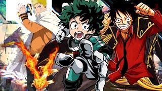 Rap Meu sonho (Anime mix) Naruto, Midorya e Luffy -  Rap tributo 18 |Vampirapper|