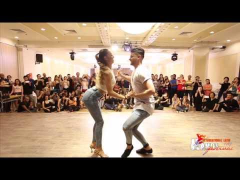 Luis & Andrea  Deja vu Prince Royce Feat Shakira @ Hanoi International Latin Festival 2017