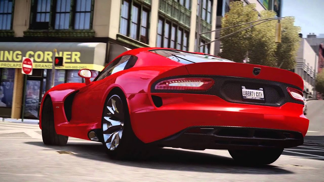 Gta Iv Dodge Viper Srt Gts Youtube
