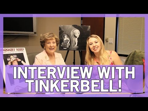 Interview With Tinkerbell - Margaret Kerry | Thingamavlogs